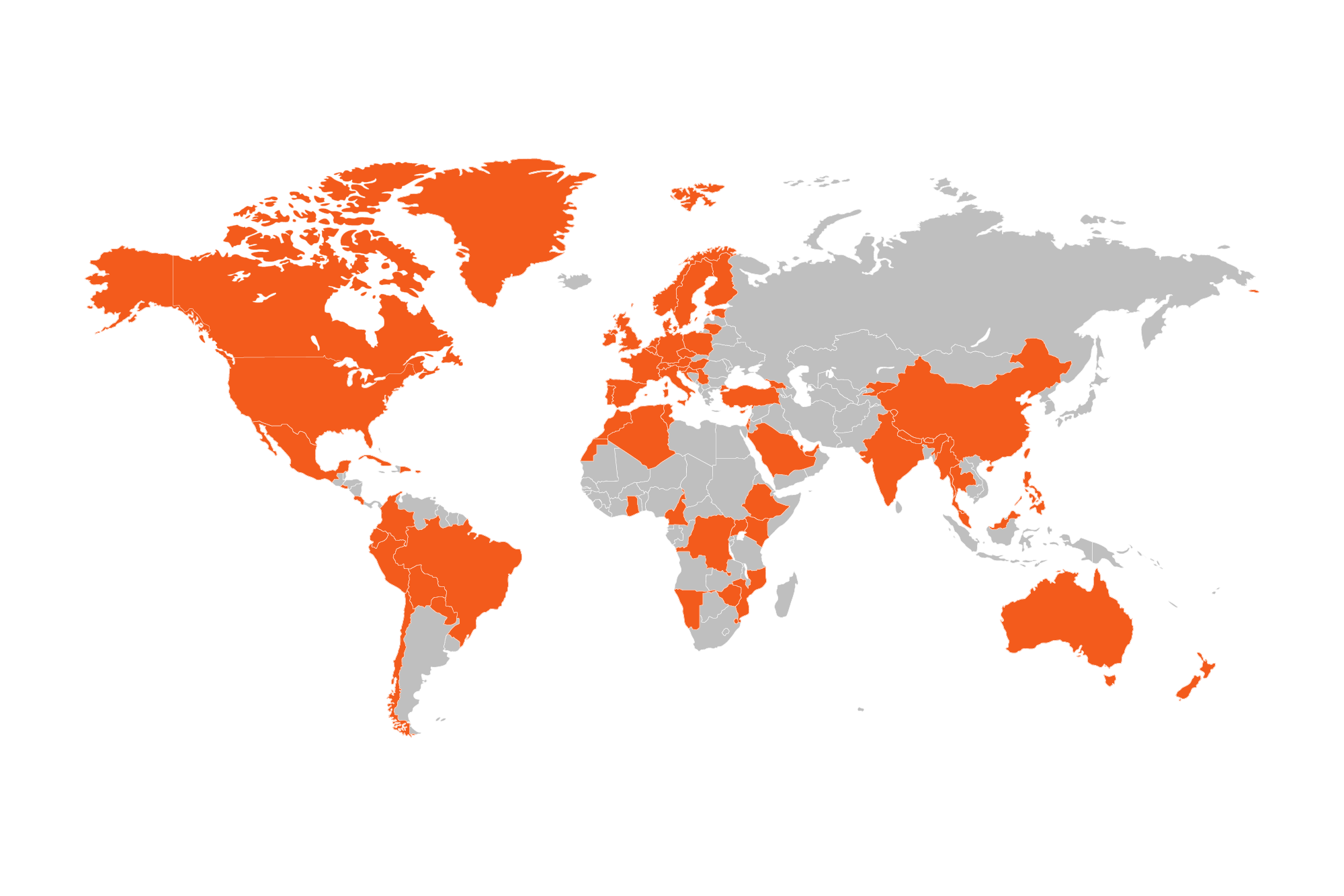 Urkund is used in nearly 80 countries